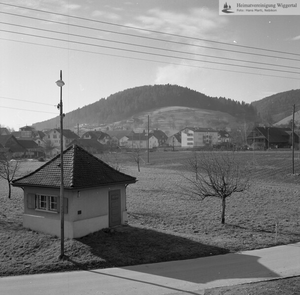#041882 | Wasserversorgung; Das Pumphäuschen an der Schürgasse erinnert an die erste Grundwasserfassung; MHN; fja