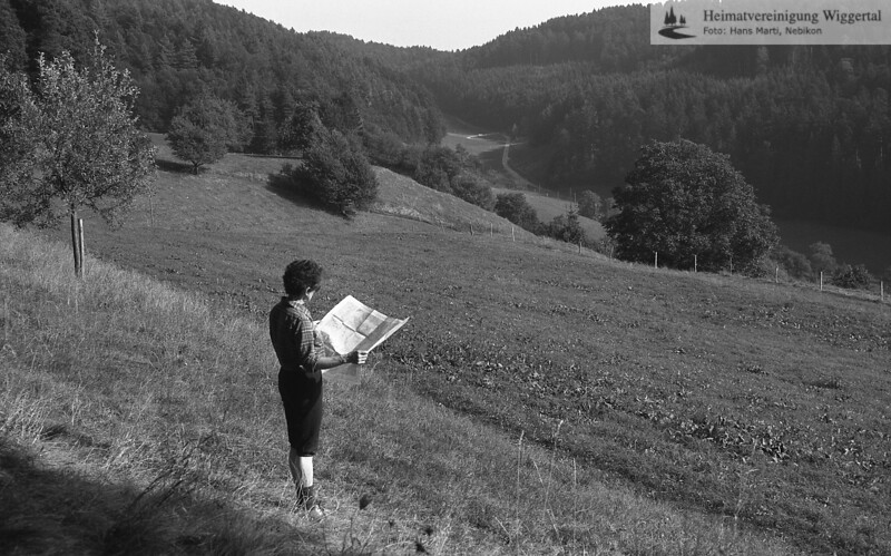 1985 Graben Wanderweg