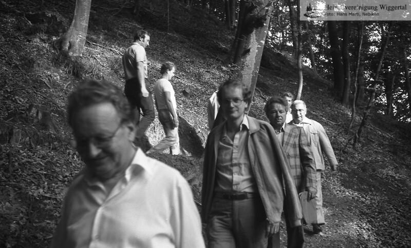 Wanderweg Rüslen 1982