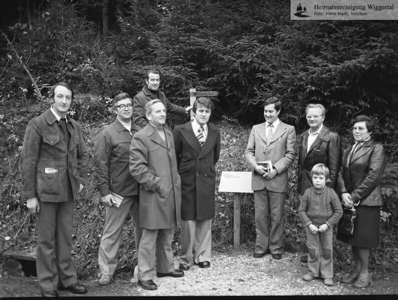 Waldpfad 1977