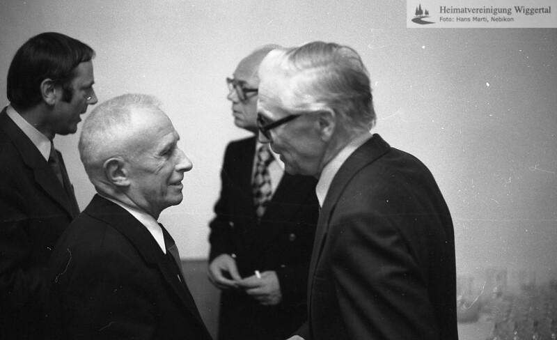 Vernissage Ernst Brunner 1977, Spätherbst