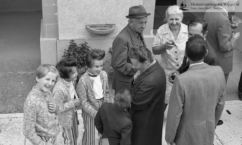 40 jähriges Pflanzjubiläum Sonntag 1.7.1979