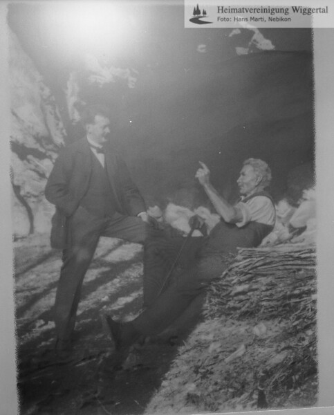 #050418 | A.L.Gassmann; Reprofoto 1984; MHN; Originale bei Frau Huber-Gassmann, Baden