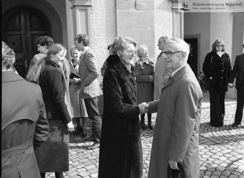 #050416 | wer?; Gürber-Greber Franz, 75. Geburtstag; jst