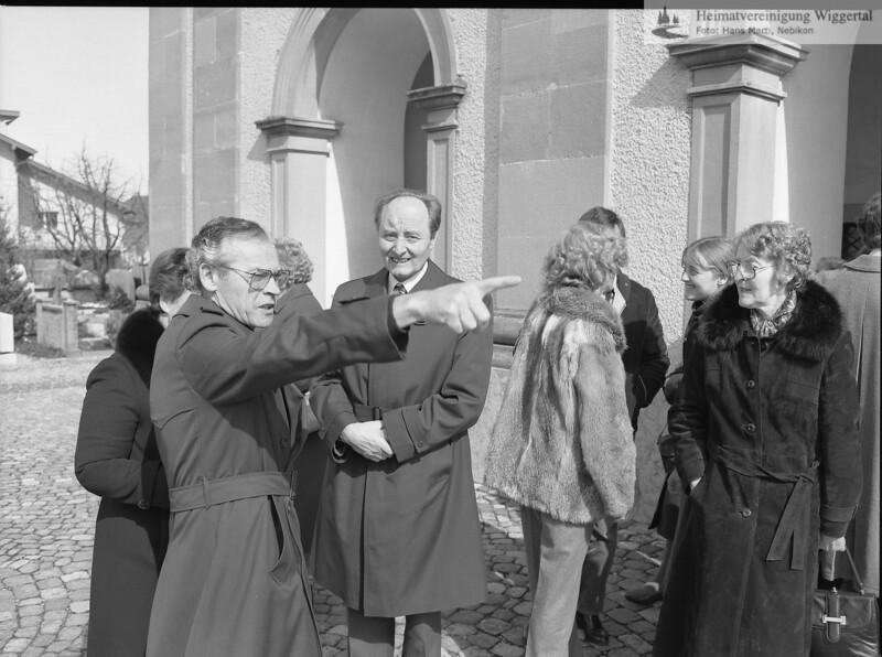 #050415 | Gürber-Greber Franz, 75. Geburtstag; Greber-Boog Franz schaut in die Kamera; jst; era