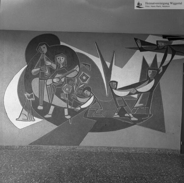 #050549 | Sgraffito, Huwiler Willy, Kunstmaler , Ruswil; kvh
