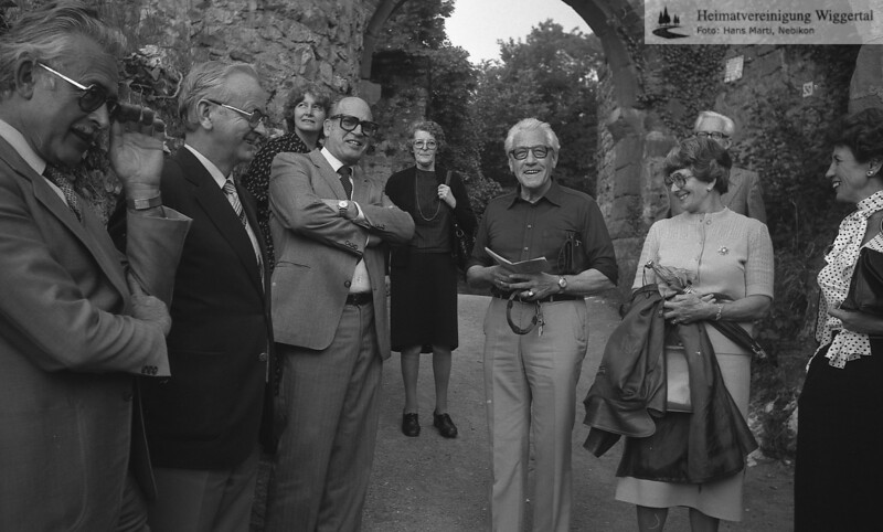 Ausflug Rötelen 1980