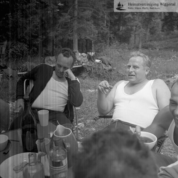 Männerchor 1969 Sörenberg