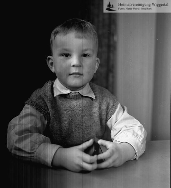 #050962 | Dieter Oswald, Sohn von Paul und Trudi Oswald Berger (ehem. Verwalter Strafanstalt); aho