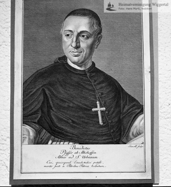 Abt Bendeikt Pfyffer, St.Urban