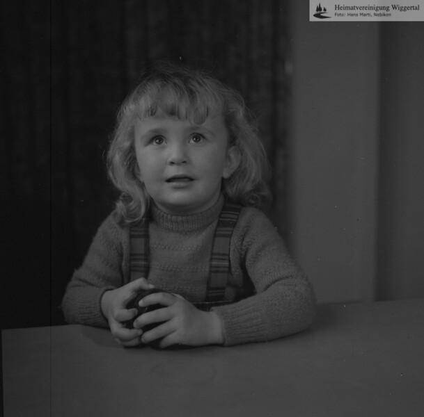 #050963 | Ruth Oswald, Tochter von Paul und Trudi Oswald Berger (ehem. Verwalter Strafanstalt); aho