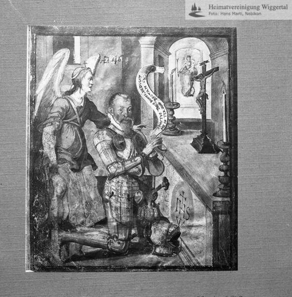 Oberst Rudolf Pfyffer 1545-1630 Pilgerfahrt
