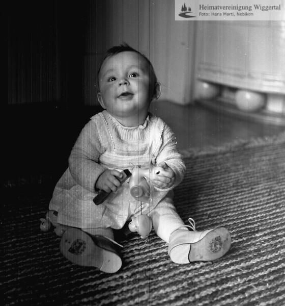 #050961 | Hildegard Oswald, Tochter von Paul und Trudi Oswald Berger (ehem. Verwalter Strafanstalt); aho