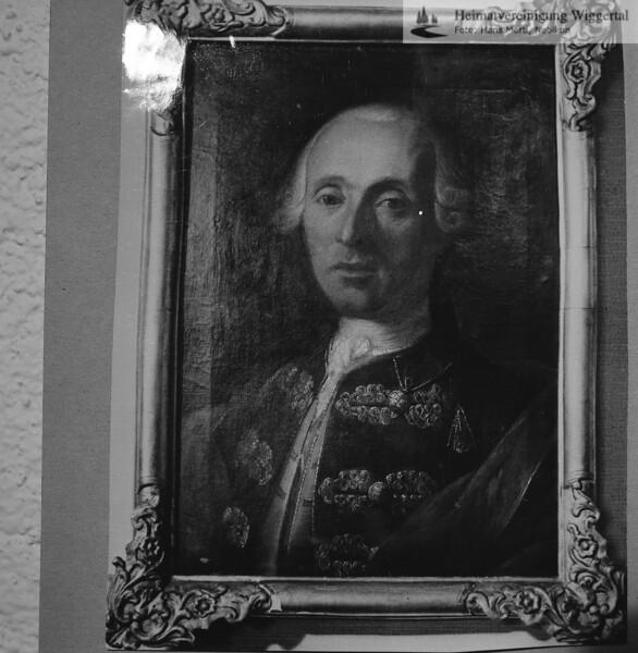 Ludwig Ignaz Pfyffer v.A. Oberst in päpstlichen Diensten 1754