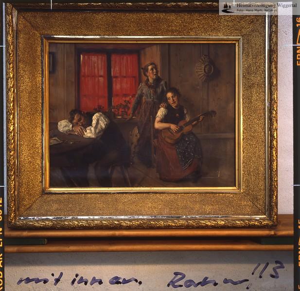 Bilder Friedrich Stirnimann Ausstellung Wyher Herbst 1987