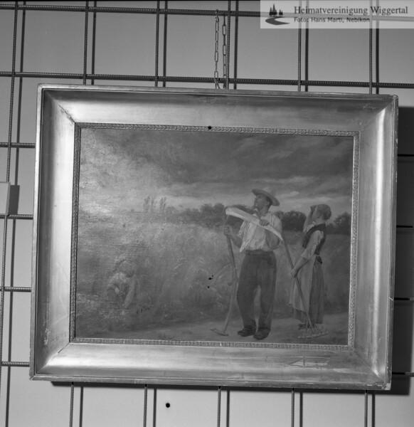 #051119 | Ausstellung Friedrich Stirnimann; Schloss Wyher, Herbst 1987; MHN