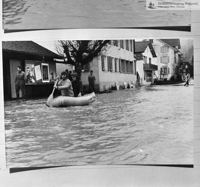 Überschwemmung 1972 22/23 F