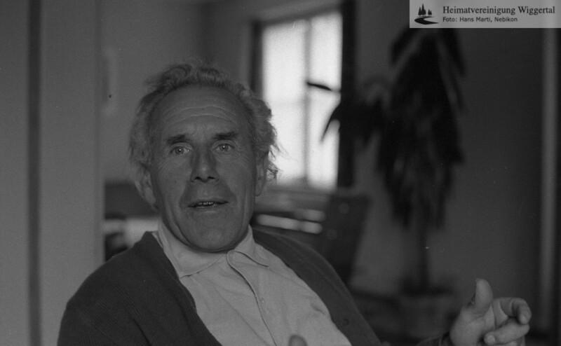 Fritz Tanner sen.Riedhorn 1963