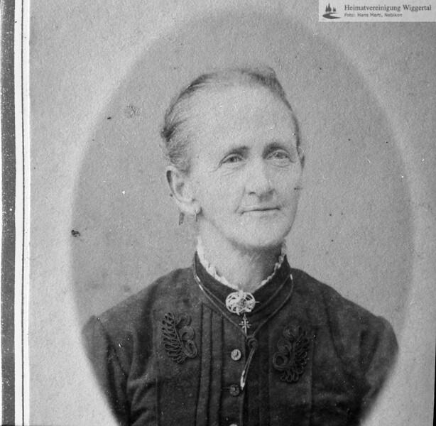 Frau Johanna Graber-Zettel