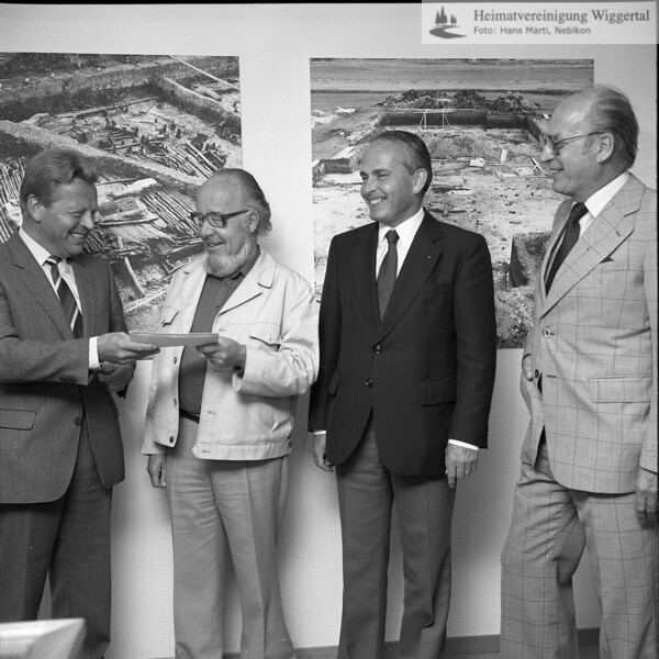 #051339 | wo? was?; wer?; vlnr:; . . ; Dr. h.c. Josef Zihlmann; . . ; Dr. Hans Rudolf Thüer; fja