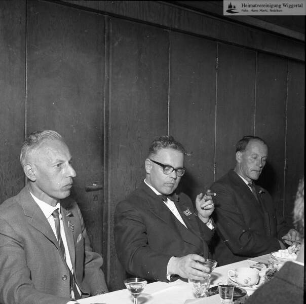 #051348 | Mitte mit Fliege:Dr. Konrad Krieger, Luzerner Staatsschreiber; rnsn