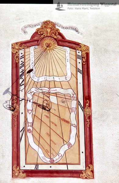 Altishofen 2/Kirche Altishofen Sonnenuhr