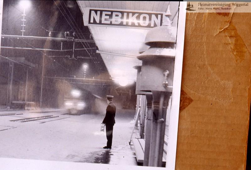 Nebikon Bahnhof