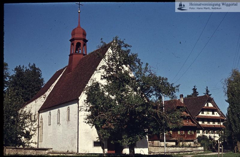 Willisau,Hegiswil,Ettiswil,Luthern,Pfaffnau/Ettiswil Sakramentskapelle