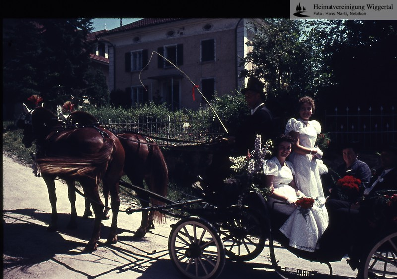 Musikfest,Hochzeit,Fasnacht,Auffahrtsumritt,Personen,Schulklassen,Roelli,MHN/Hochzeit