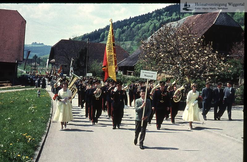 Musikfest,Hochzeit,Fasnacht,Auffahrtsumritt,Personen,Schulklassen,Roelli,MHN/Musikfest