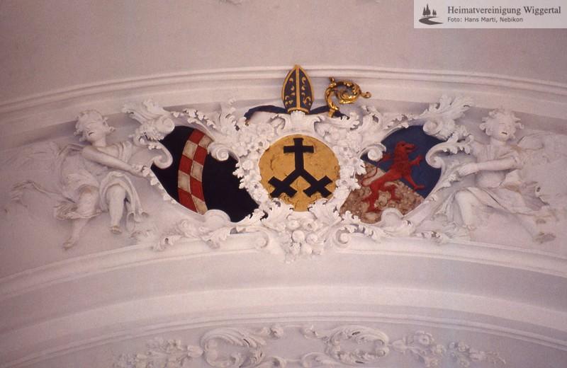 St.Urban(Burgen,Mauensee,Kastelen,Schlüssel)/Kirche