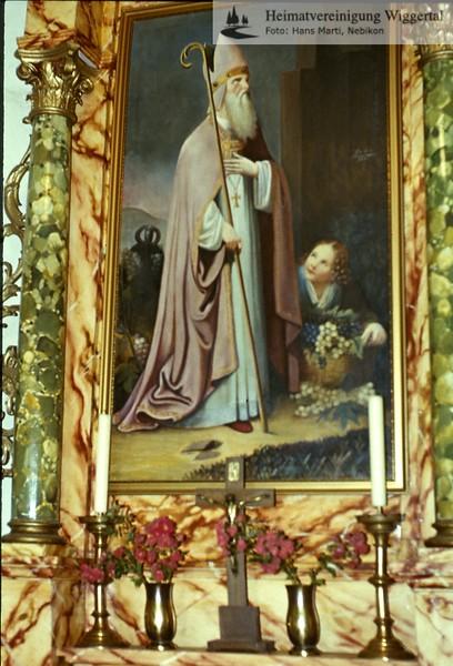 Sakrallandschaft ausgeschieden ausstattung/St. Theodul E9