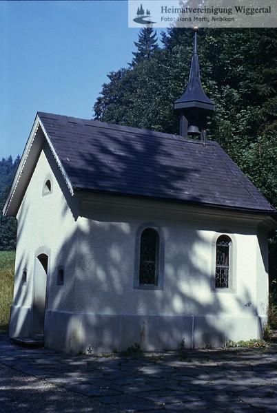Sakrallandschaft Luthernbad Hintere Kapelle