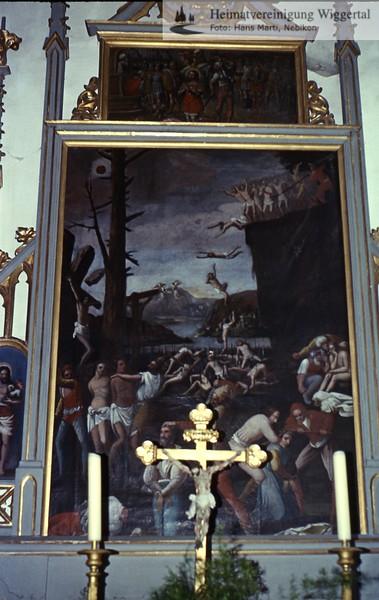 Sakrallandschaft ausgeschieden Austattung/ Willisau St.Niklaus 2