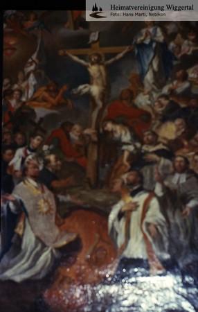 Sakrallandschaft ausgeschieden Austattung/ Willisau St.Niklaus