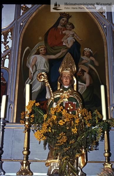 Sakrallandschaft ausgeschieden Austattung/ Willisau St.Niklaus 3