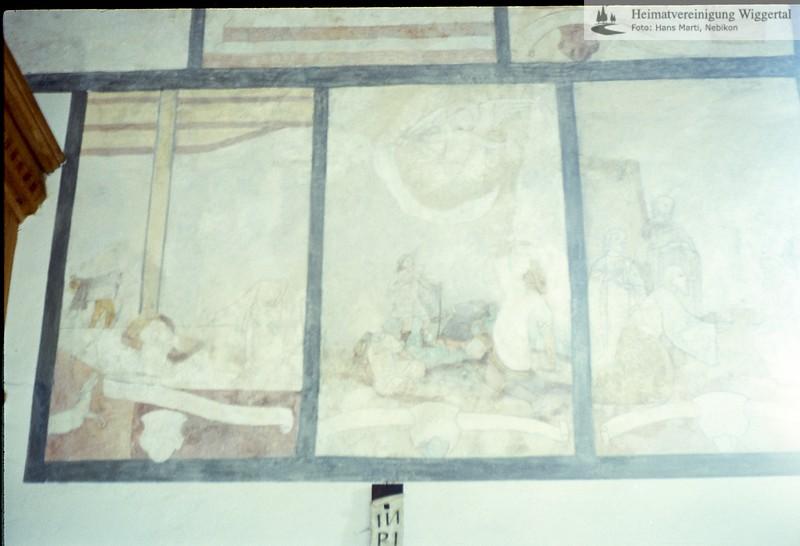 Sakrallandschaft ausgeschieden Austattung/Fischbach Fresken Detail
