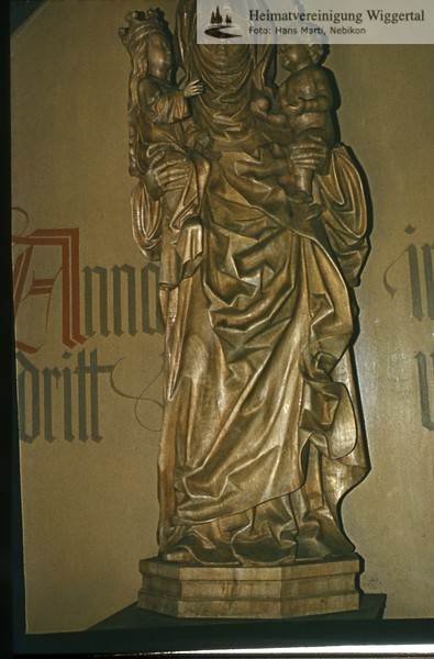 Sakrallandschaft ausgeschieden Austattung/Pfaffnau St.Anna