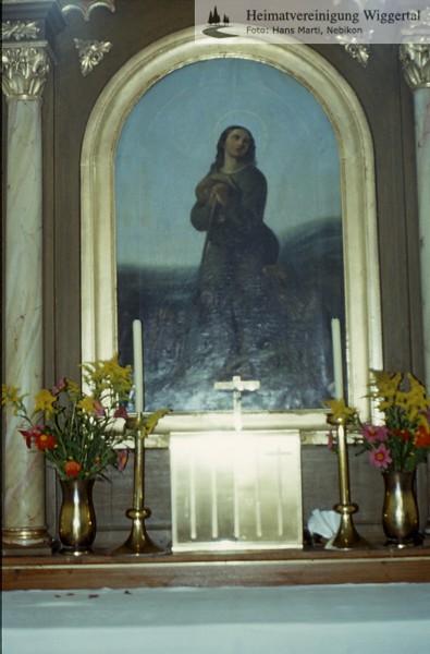 Sakrallandschaft ausgeschieden Austattung/Roggliswil St.Wendel