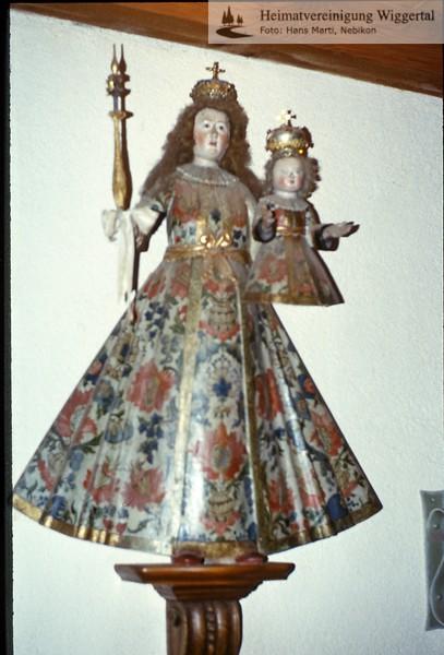 Sakrallandschaft ausgeschieden Austattung/Luthernbad alte Madonna