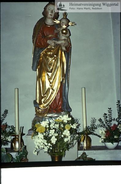 Sakrallandschaft ausgeschieden Austattung/Luthernbad Madonna Kapelle