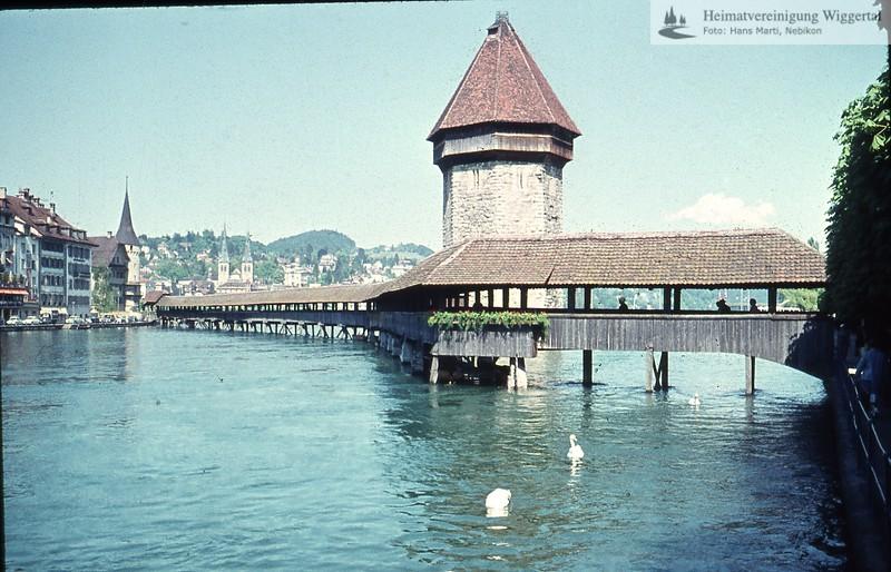Geologie Amtsfest Wässer Städte Fest…../Luzern Kapelbrücke