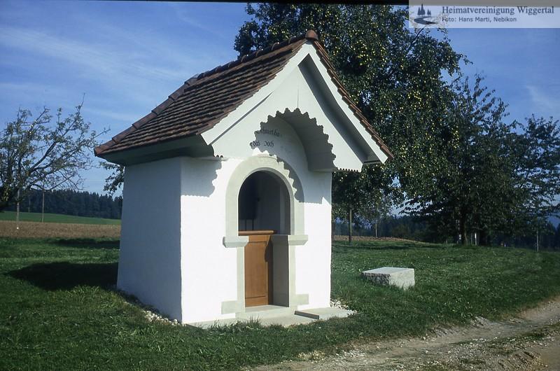 Sakrallandschaft Kirchen Klöster/Sakrallandschaft Aesch Warlosen Ebersecken Chäppelihof