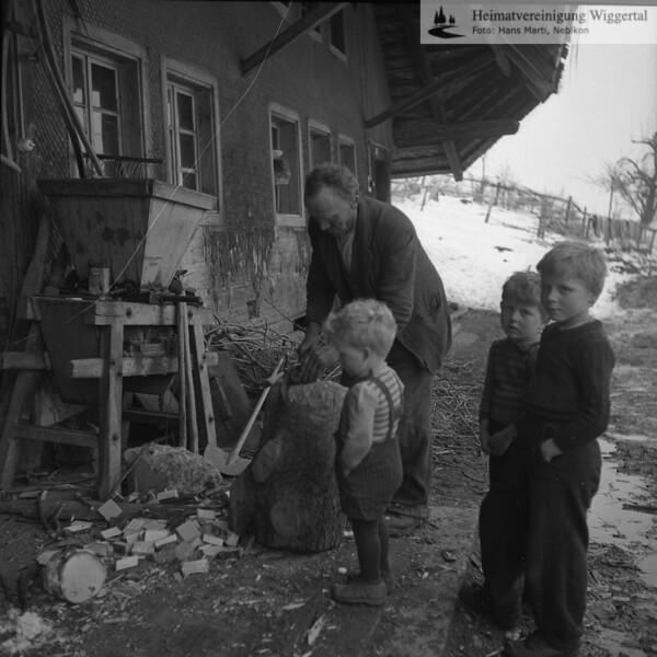 Handwerk/Gewerbebetriebe Köhlerei Hergiswil