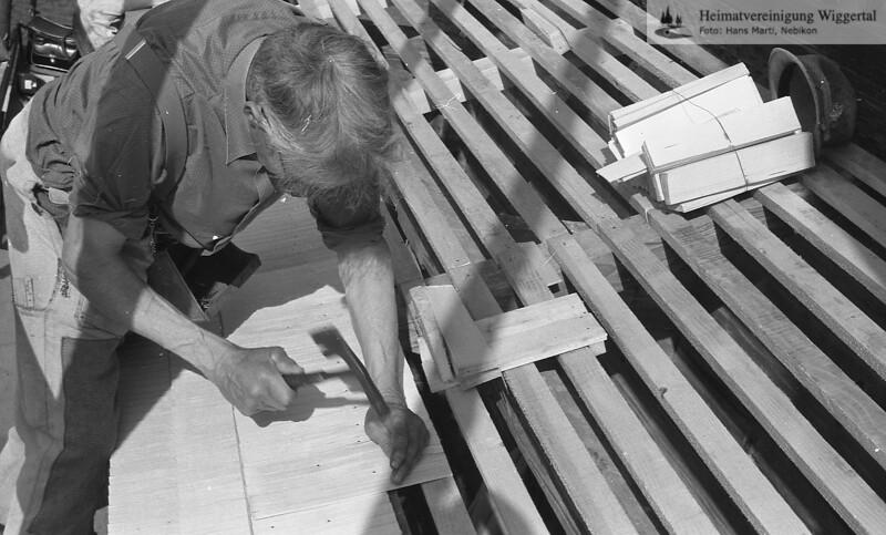 Handwerk/Gewerbebetriebe Schindeldeck in Nebikon 1987