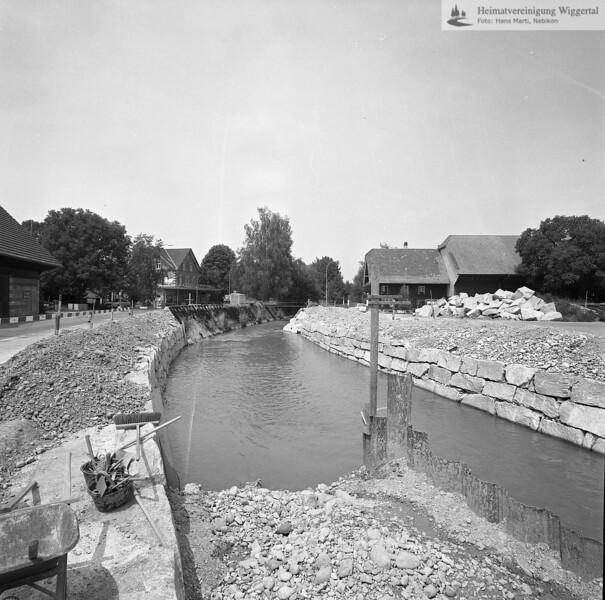 Flussverbauungen Alberswil 1983