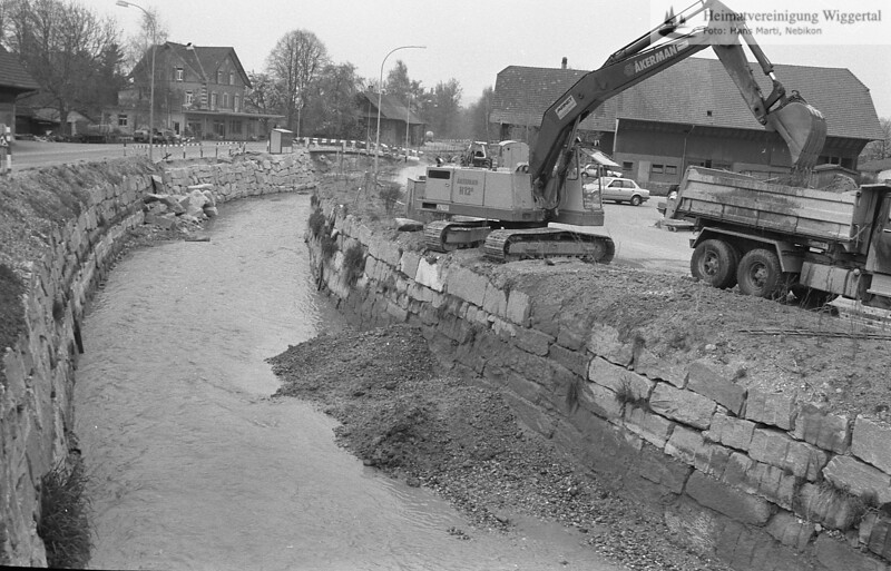Flussverbauungen 1987