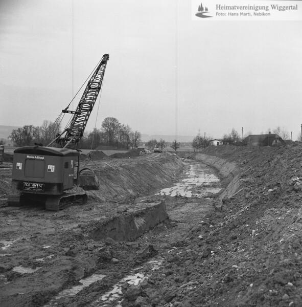 Flussverbauungen Wigger/Wydenmühle