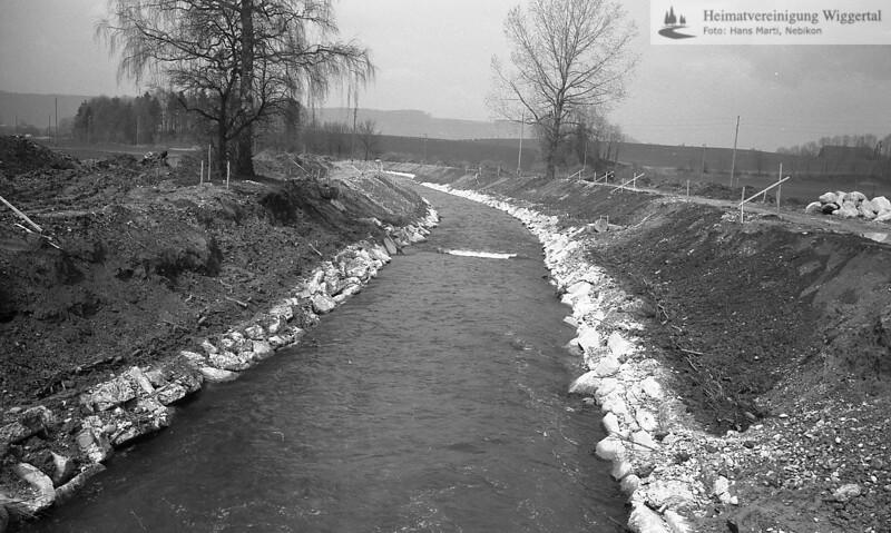 Flussverbauungen Alberswil 1985/86