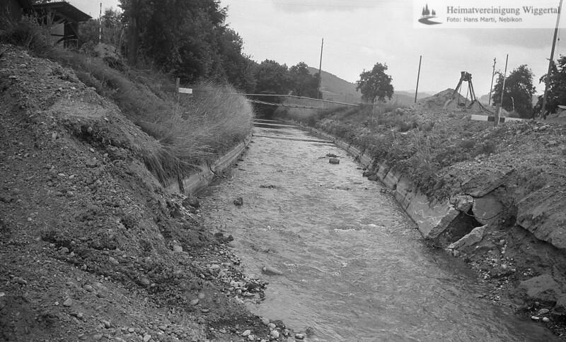 Flussverbauungen 1984